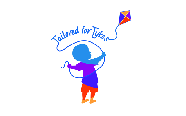 Tailored by Tykes logo design